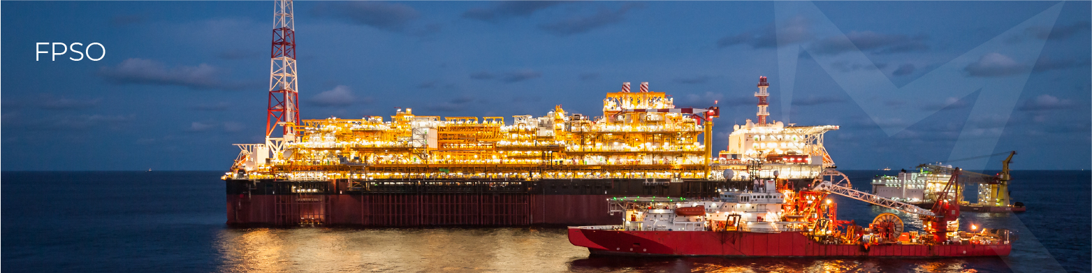 FPSO floating vessel used by the offshore oil and gas industry Frenstar Butterfly Valves